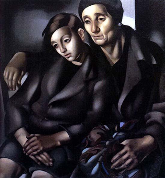 Les refugies, Tamara de Lempicka, 1937
