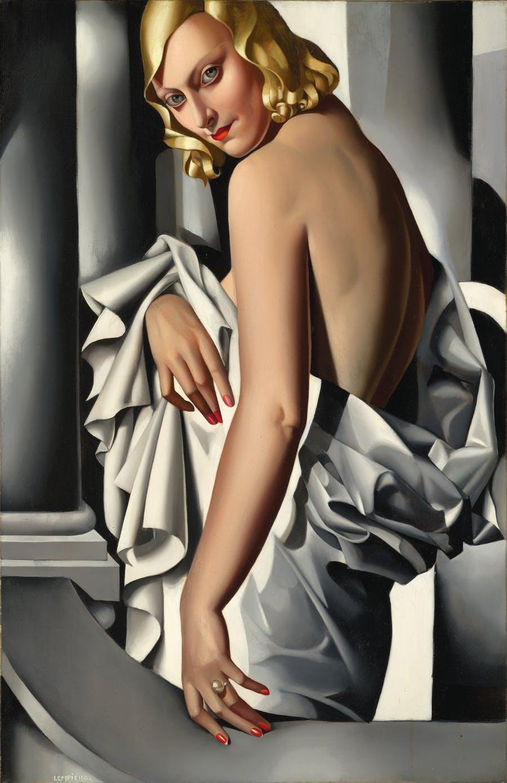 Portrait de Marjorie, Tamara de Lempicka, 1935