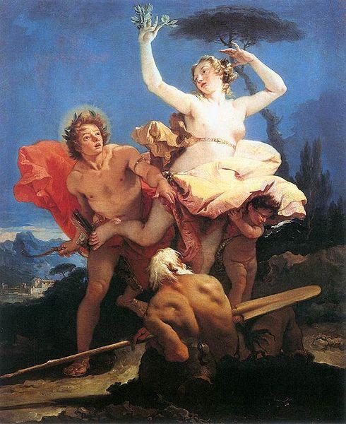 Apollon et Daphné, Tiepolo, 1744