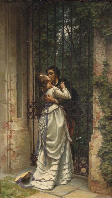 La Baiser, Allason, 1910