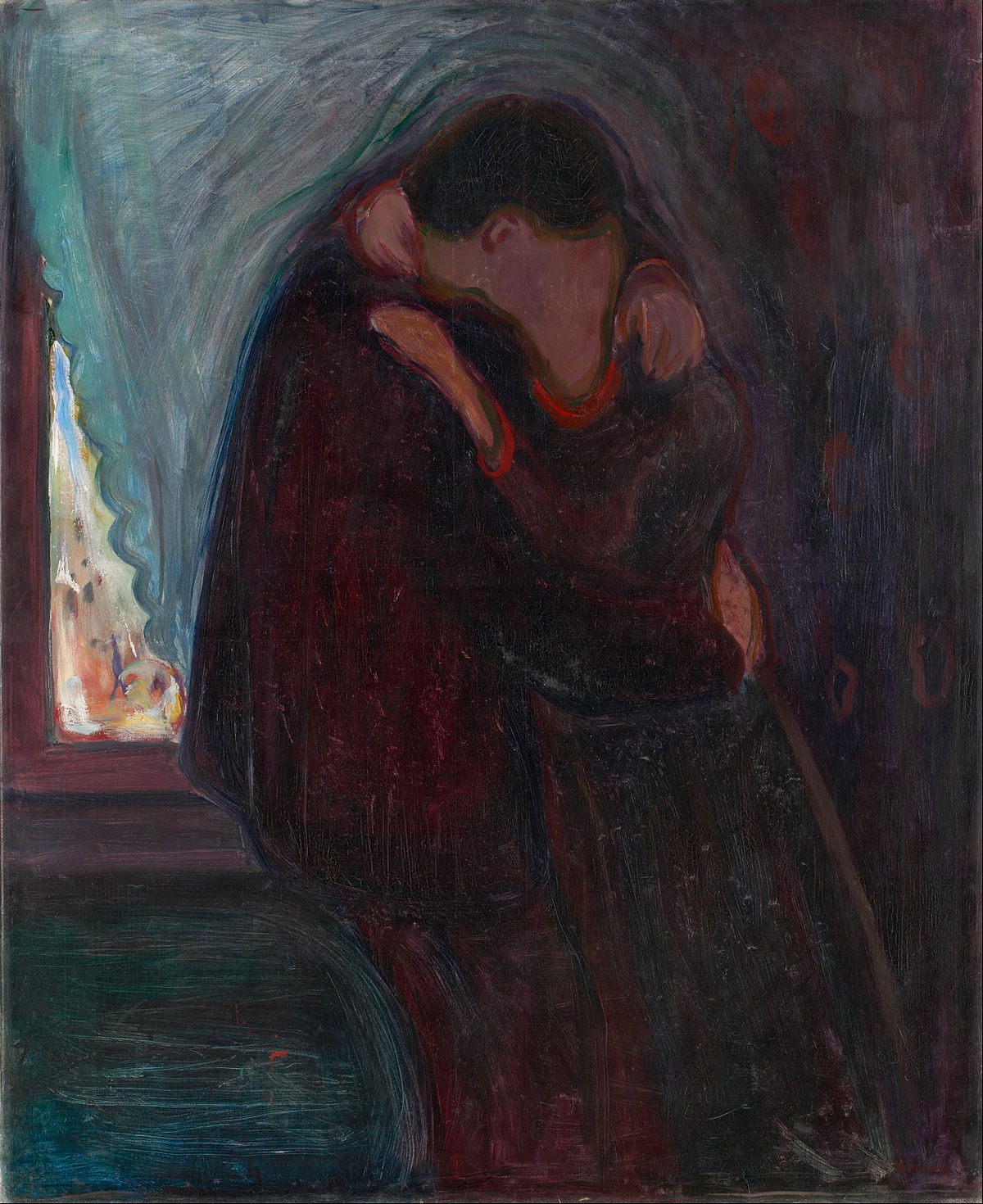 Le Baiser, Munch, 1897