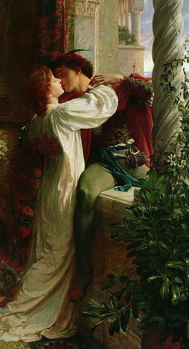 Romeo et Juliette, Dicksee, 1884