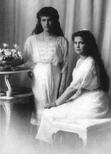 Anastasia et Maria Romanov