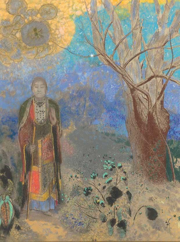 Bouddha, Odilon Redon, 1906-1907