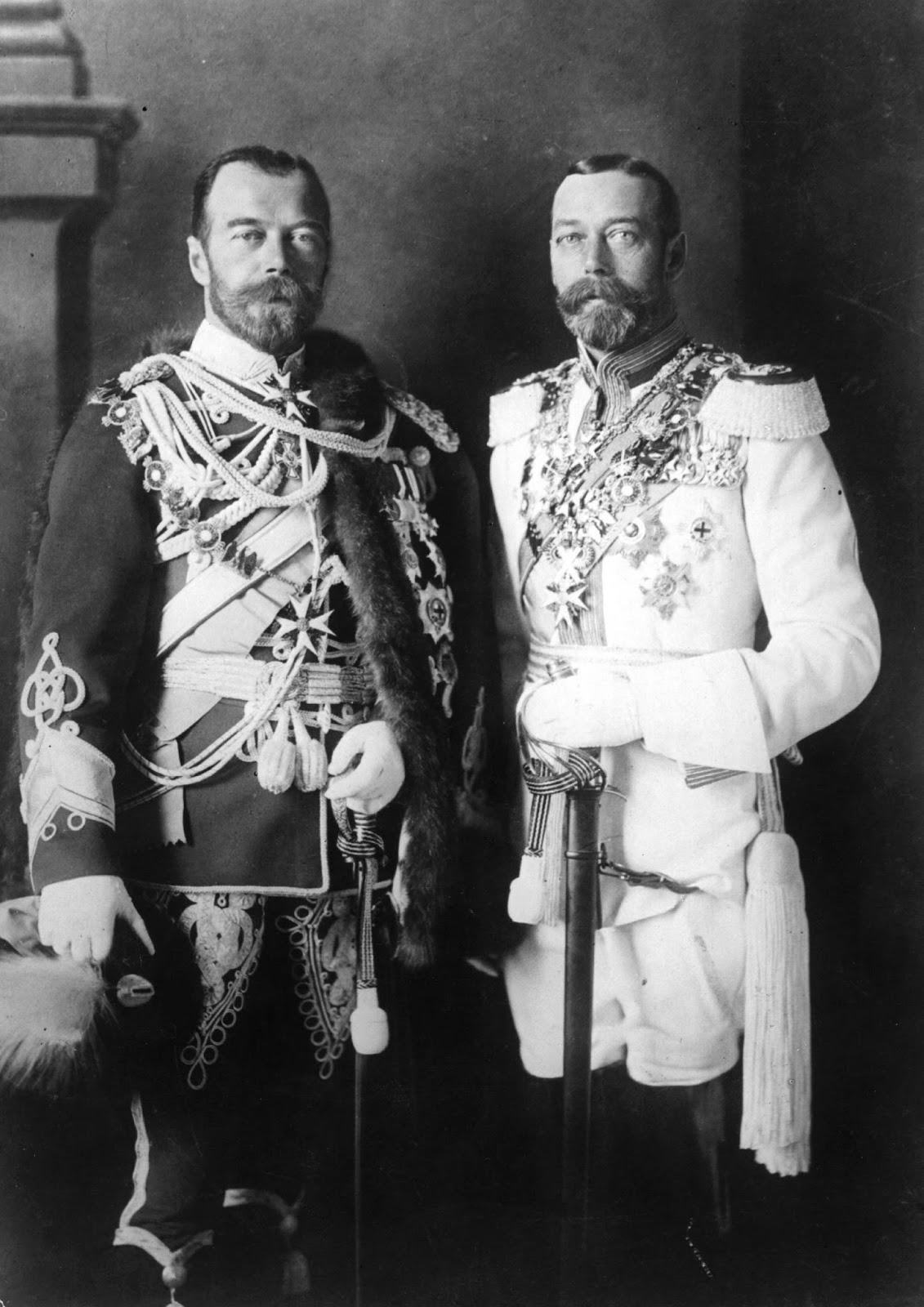 Nicolas II et George V