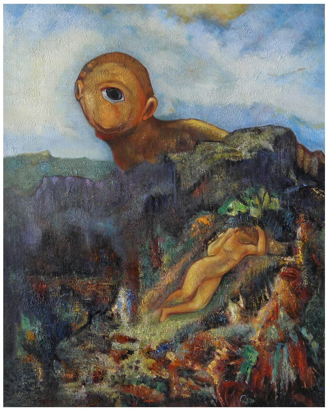 Odilon Redon, Cyclope