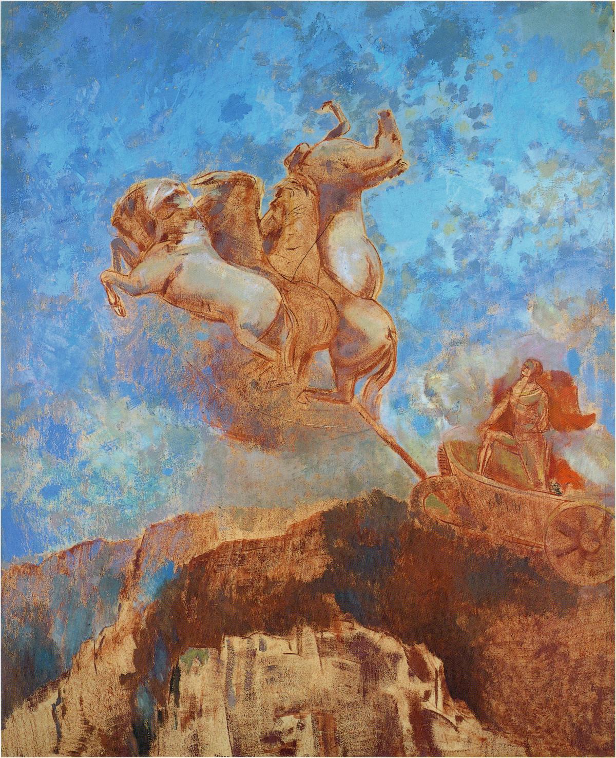 Odilon Redon, le Char d'Apollon
