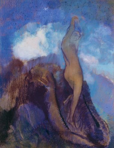 Odilon Redon, la naissance de Vénus