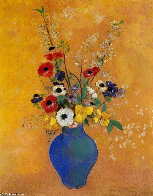 Vase de fleurs, Odilon Redon