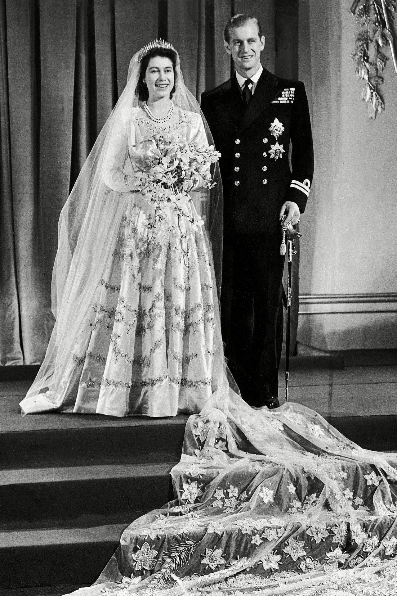 Mariage du Prince Philip et de la Reine Elizabeth