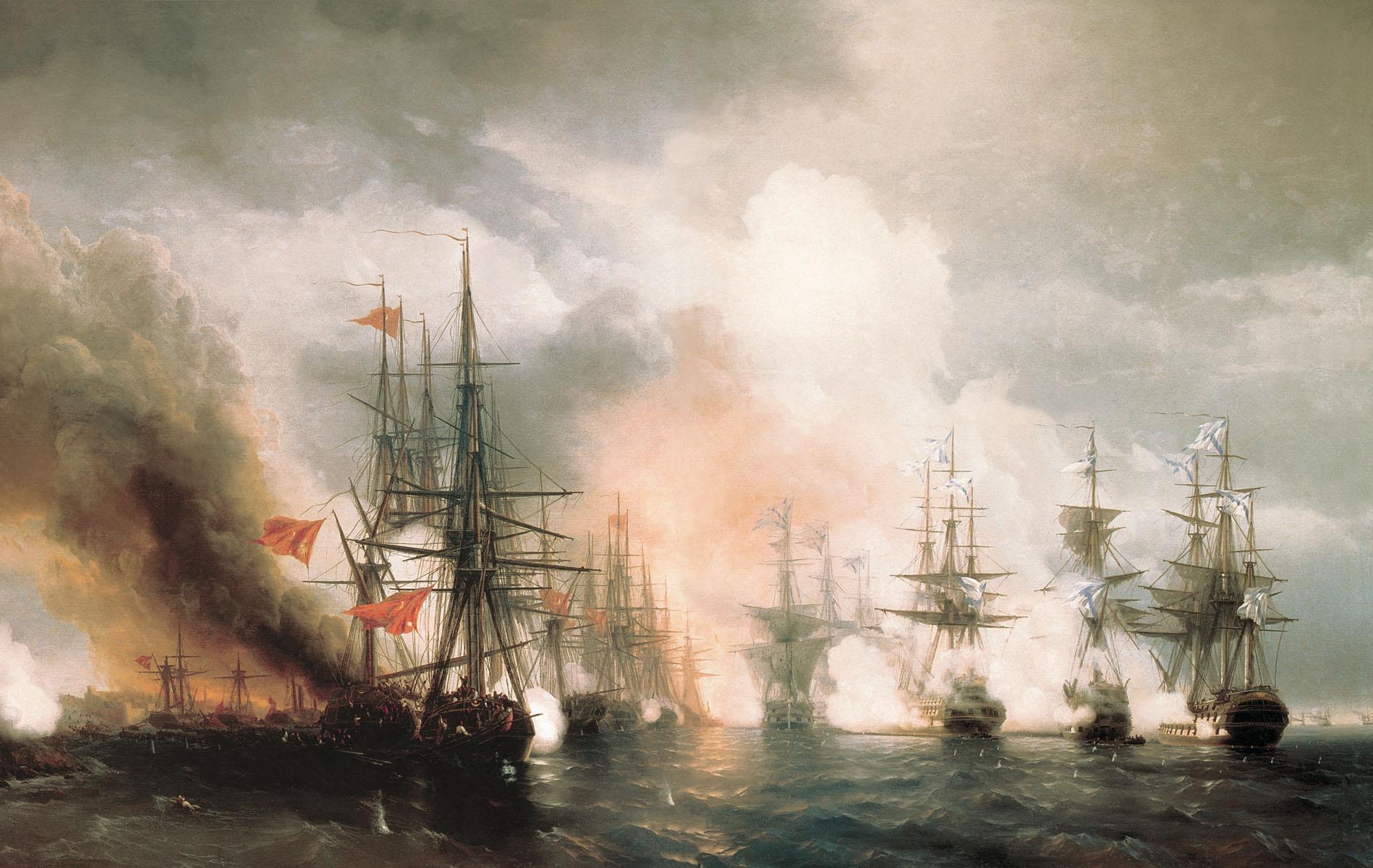 Bataille navale de Sinop, 1853
