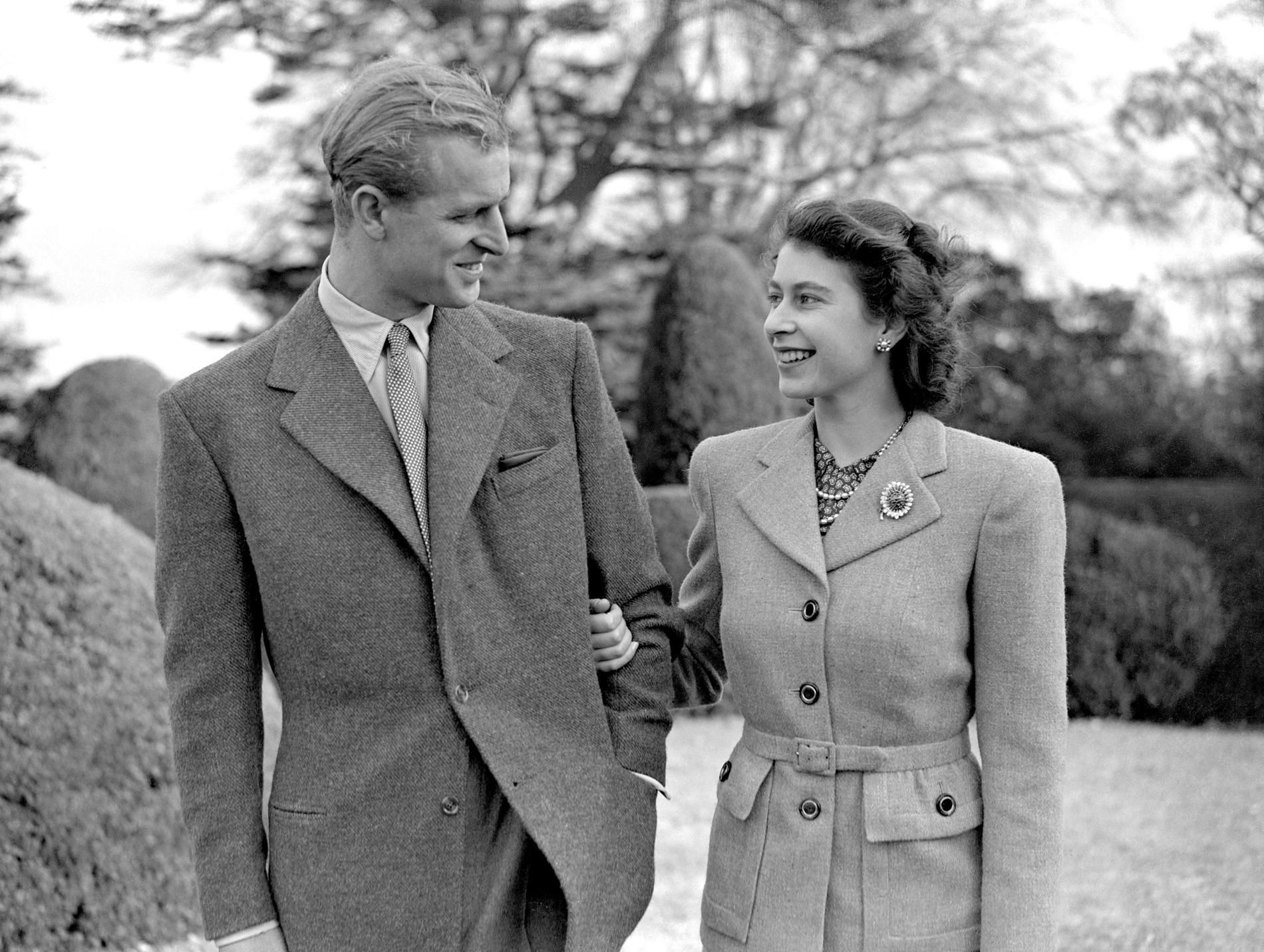 Le Prince Philip et la Reine Elizabeth