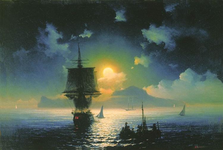 Nuit à Capri, 1841