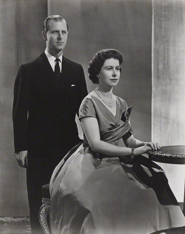 Prince Philip et Elizabeth II