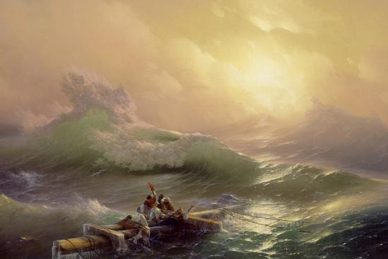 La neuvième vague, 1850