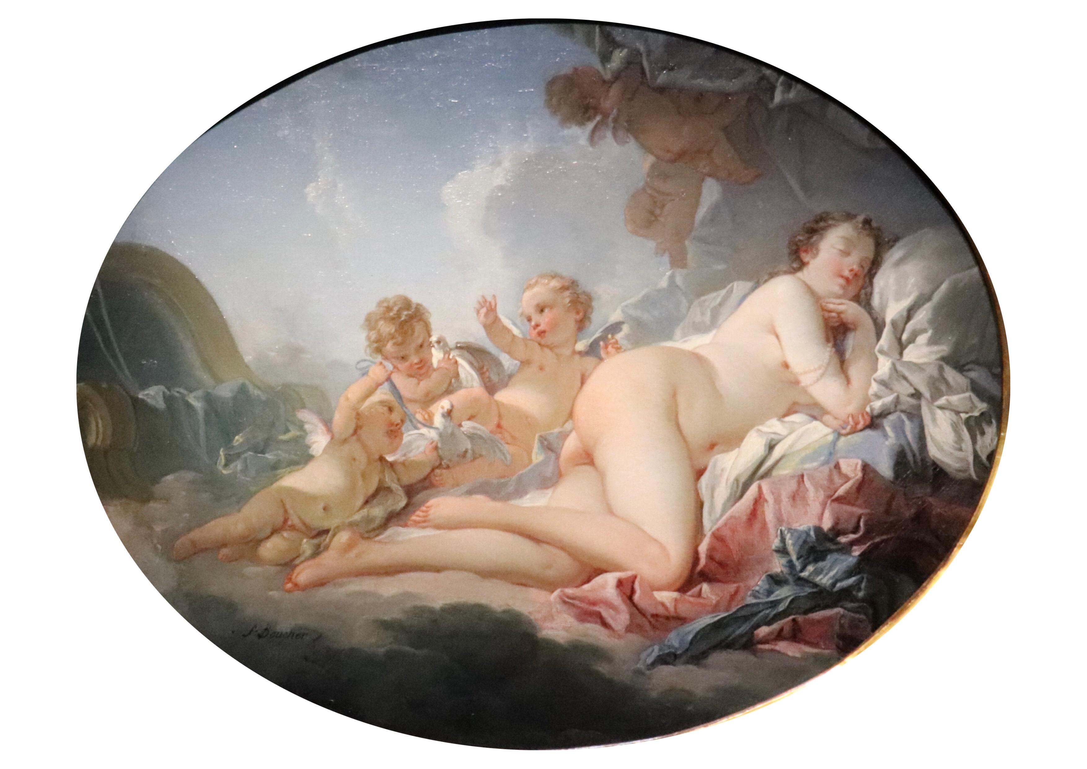 Vénus endormie, Boucher, 1740