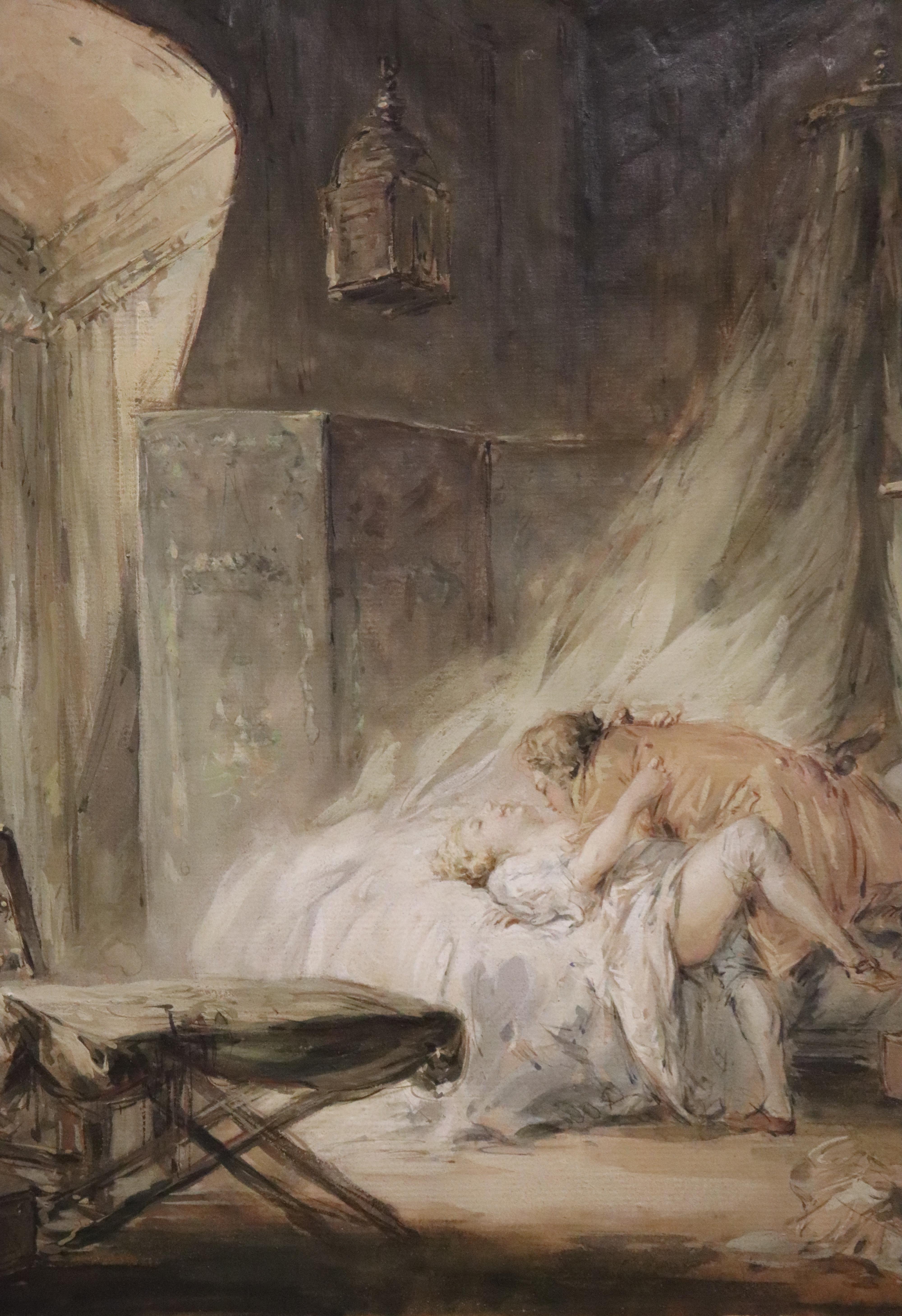 Deux jeunes amoureux, Baudouin, XVIII