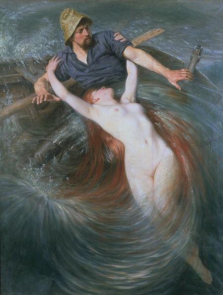 Le pêcher et la sirène, Ekvall, XIX