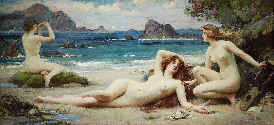 Les Sirènes, Rae, 1903