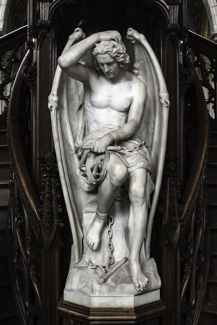 Le Génie du Mal, Guillaume Geefs, 1848
