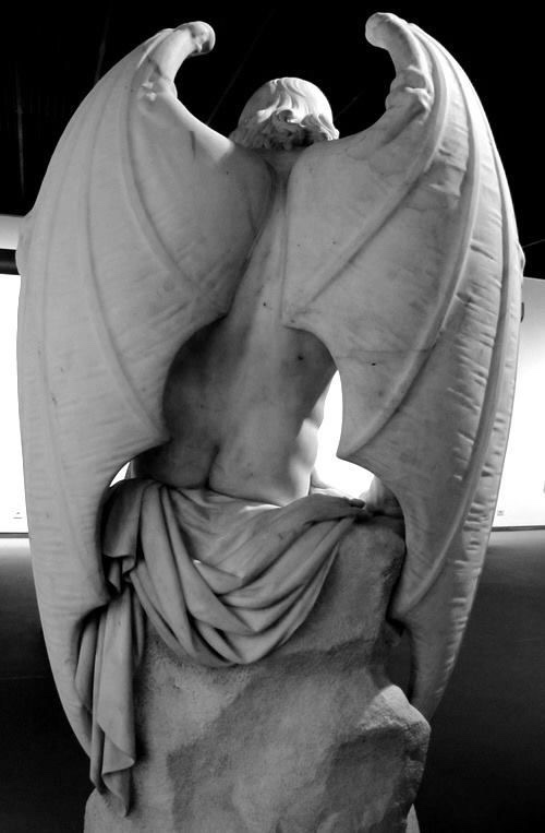 L'Ange du Mal, Joseph Geefs, 1842