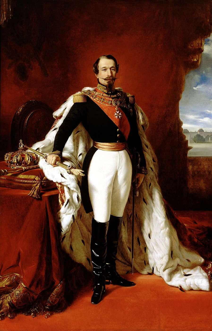 Napoléon III, Empereur des français, Winterhalter, XIX