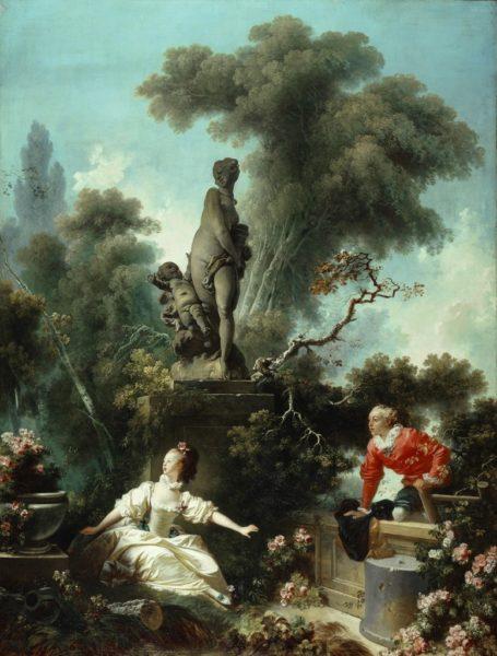 Les progrès de l'amour : le rendez-vous, Jean Honoré Fragonard, 1773