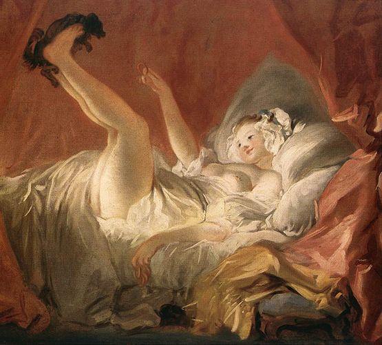 L'Odalisque Blonde, Jean-Honoré Fragonard, 1752